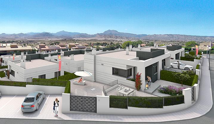 Maisons modernes sur les hauteurs d\'Alicante - Second-Residence